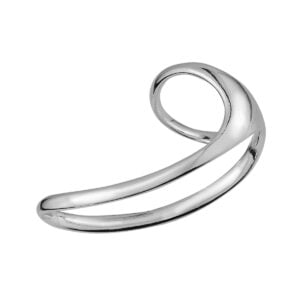 Δαχτυλίδι Space ασημί